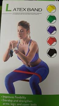 Набор резинок Fit Simplify для фитнеса комплект 5 шт