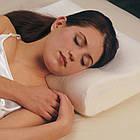 """Подушка ортопедическая """"Здоровый Сон"""" Memory Foam Pillow с памятью , фото 6"""