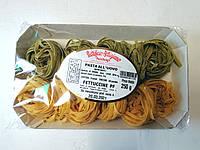 Макароны гнезда Fettuccine Pastificio Artigiano со шпинатом, 250 г.