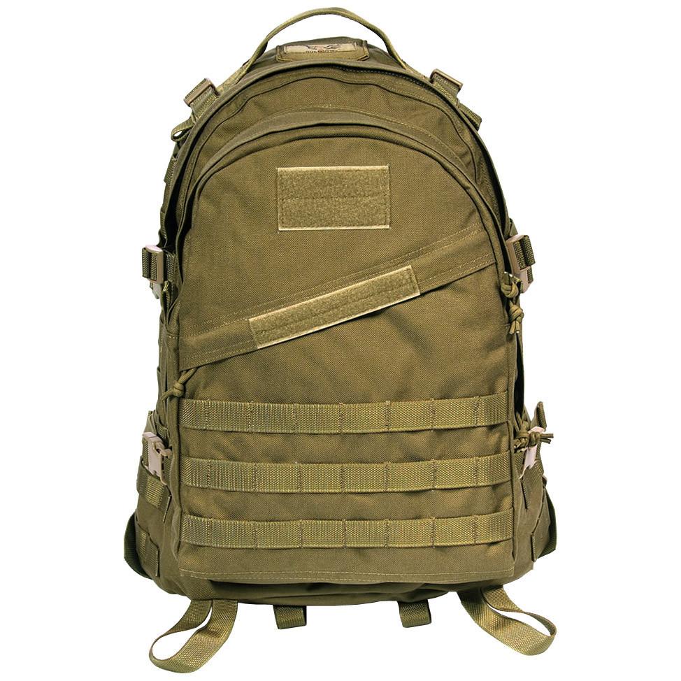 Тактический рюкзак Штурмовой Военный Туристический Tactical 3D Песочный на 40 литров