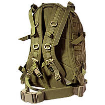 Тактический рюкзак Штурмовой Военный Туристический Tactical 3D Песочный на 40 литров, фото 2