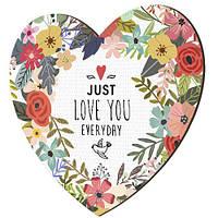 Панно Серце Just love you everyday