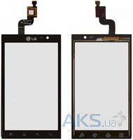 Сенсор (тачскрин) LG Optimus 3D P920 Black