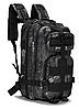 Неубиваемый тактический рюкзак на 25л, штурмовой военный туристический ForTactic Черный, фото 4