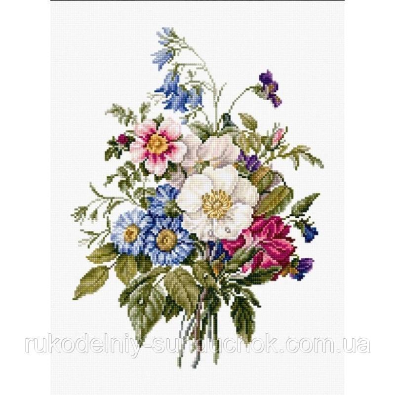 """Набор для вышивания крестом """"Luca-s"""" BU4004 Букет летних цветов"""