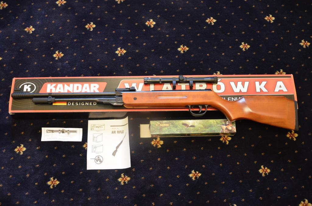 Пневматична гвинтівка 4,5 mm Kandar PRO Germany HARD В3-3 280m/s  (набір для чистки зброї, пули 300 шт)