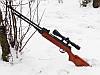Пневматична гвинтівка 4,5 mm Kandar PRO Germany HARD В3-3 280m/s  (набір для чистки зброї, пули 300 шт), фото 2