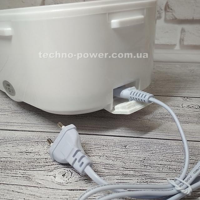 Ланч-бокс электрический с подогревом от сети 220 В