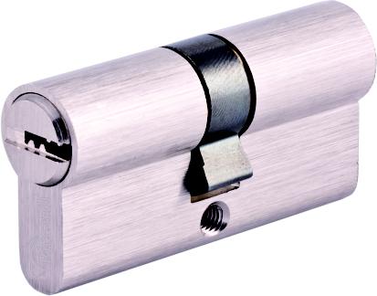 Евроцилиндр EN 1303 перфорированный ключ (к/к)