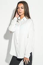 Блузка женская однотонная 64PD137 (Белый)