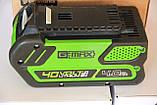 Аккумуляторы  Greenworks G MAX G40B4 40 V, фото 3