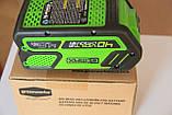 Аккумуляторы  Greenworks G MAX G40B4 40 V, фото 4