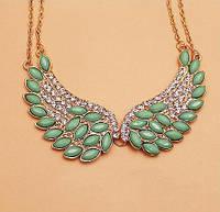 Стильное женское ожерелье крылья, фото 1