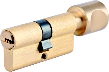 Евроцилиндр EN 1303 перфорированный ключ (к/в)