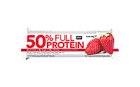 QNT_50% Full Protein Bar 12x50 г - Exotic Strawberry