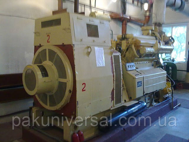 Электростанции конверсионные (дизель-генераторы) КАС-500 500 кВт (630 кВа).