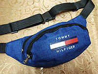 Сумка на пояс TOMMY HILFIGER Ткань мессенджер/Спортивные барсетки сумка только опт, фото 1