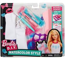 Дизайнер одежды Барби Акварель Barbie D. I. Y. Watercolor