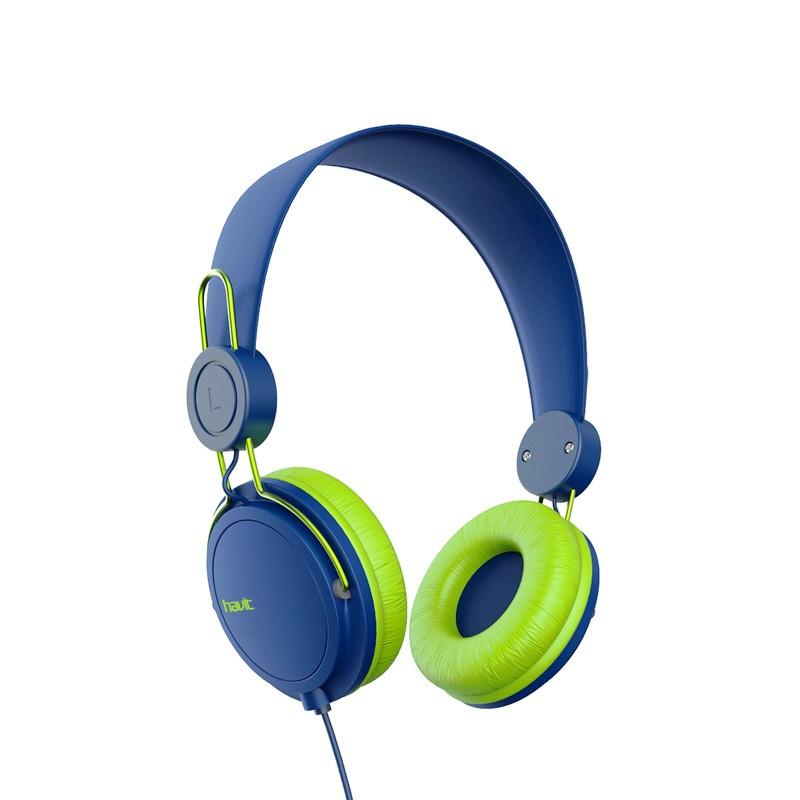 Наушники HAVIT HV-H2198d blue/green
