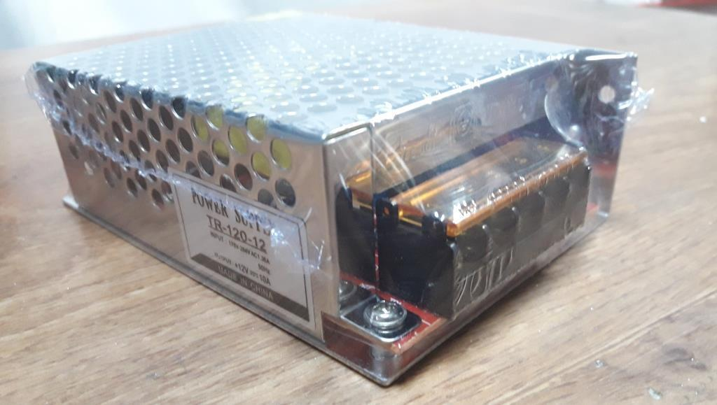 Блок питания 12V-120W-10А