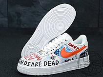 Мужские кроссовки Nike Air Force 1 x Vlone x Pauly AA5360-100, фото 3