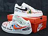 Мужские кроссовки Nike Air Force 1 x Vlone x Pauly AA5360-100, фото 2