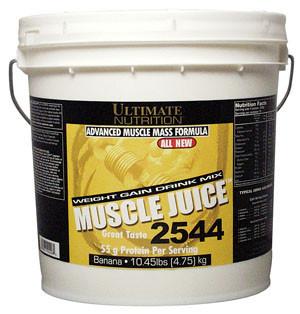 UltN MUSCLE JUICE 2544, 4.75 кг - banana