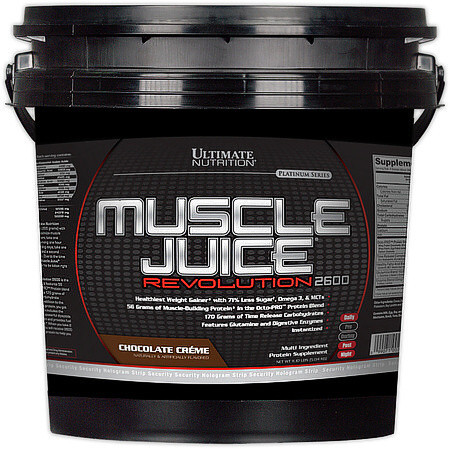 UltN MUSCLE JUICE 2600, Revolution 5,04 кг - cookies'n'cream