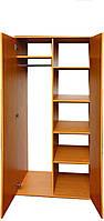 Шкаф комбинированный для документов и одежды 2-дверный