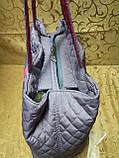 Женская сумка стеганная NK НОВЫЙ сумка стильная только оптом, фото 3