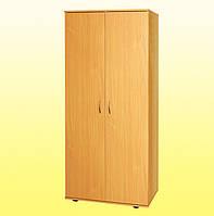 Шкаф для одежды со стационарной штангой