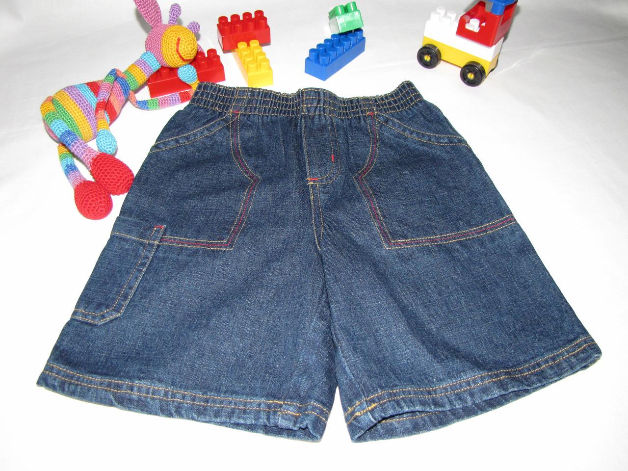 Шорты джинсовые  Disney оригинал рост 110 см темно синие 07067/02