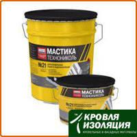 Мастика кровельная ТЕХНОНИКОЛЬ №21 (Техномаст), ведро 20 кг