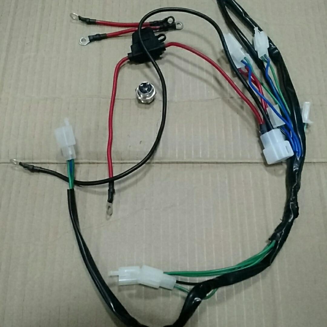 Проводка полный набор подкл.к ЗУ-36V и Контролеру.