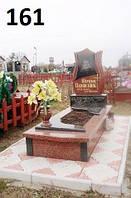Елітний дитячий пам'ятник з червного граніту