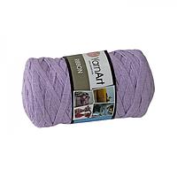 Турецкая пряжа для вязания YarnArt   Ribbon ( риббон )  ковриков , корзин   - 765 сирень