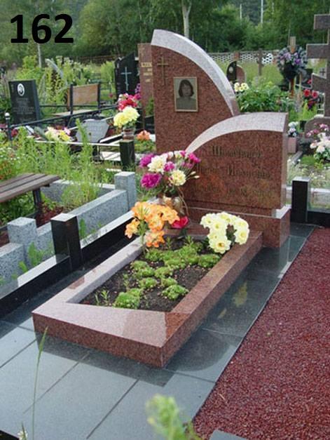 Ексклюзивний пам'ятник комплект з граніту лізник