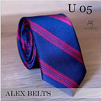 """Краватка дорослий вузький з малюнком """"Lan Franko"""" GVUR-U05"""