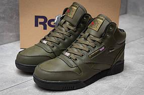 Зимние кроссовки Reebok Classic, хаки (30143) размеры в наличии ► [  45 (последняя пара)  ]