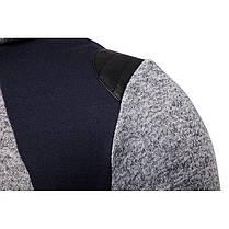 МужскаяповседневнаявышивкаТонкийТолстовкис капюшоном с капюшоном с капюшоном Кардиганские пальто - 1TopShop, фото 2