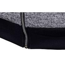 МужскаяповседневнаявышивкаТонкийТолстовкис капюшоном с капюшоном с капюшоном Кардиганские пальто - 1TopShop, фото 3