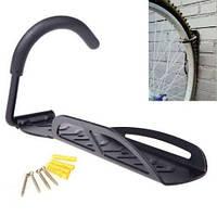 Крепление велосипеда на стену за колесо ,подвесной кронштейн,держатель для велосипеда на стену, крюк, фото 1