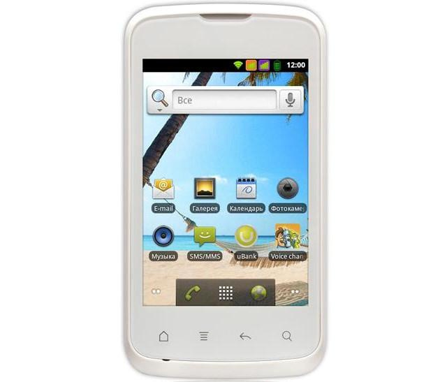 """Телефон Fly IQ430 Evoke White - 2Sim+3,5""""+512Mb Ram+Android4, фото 1"""