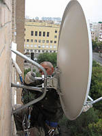 Установка спутниковых антенн в Киеве