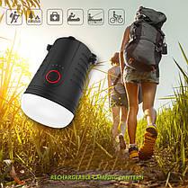 4000mAh банк силы палатки кемпинга свет 4 режима фонарь перезаряжаемые аварийная лампа - 1TopShop, фото 3