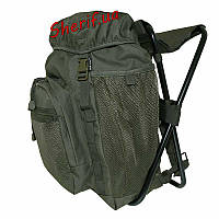 Рюкзак туристический с раскладным стульчиком 20л MIL-TEC Olive, 14059001