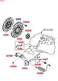 Корзина сцепления TCI 1700 CC - U2, KIA Sportage 2010-15 SL, 4130032005, фото 4