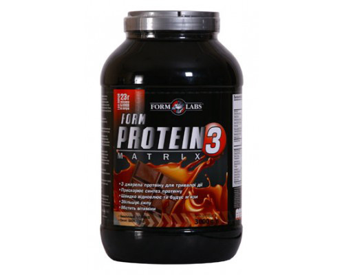 FL Protein Matrix 3 3000g - шоколад