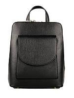 Кожаный рюкзак для стильной девушки