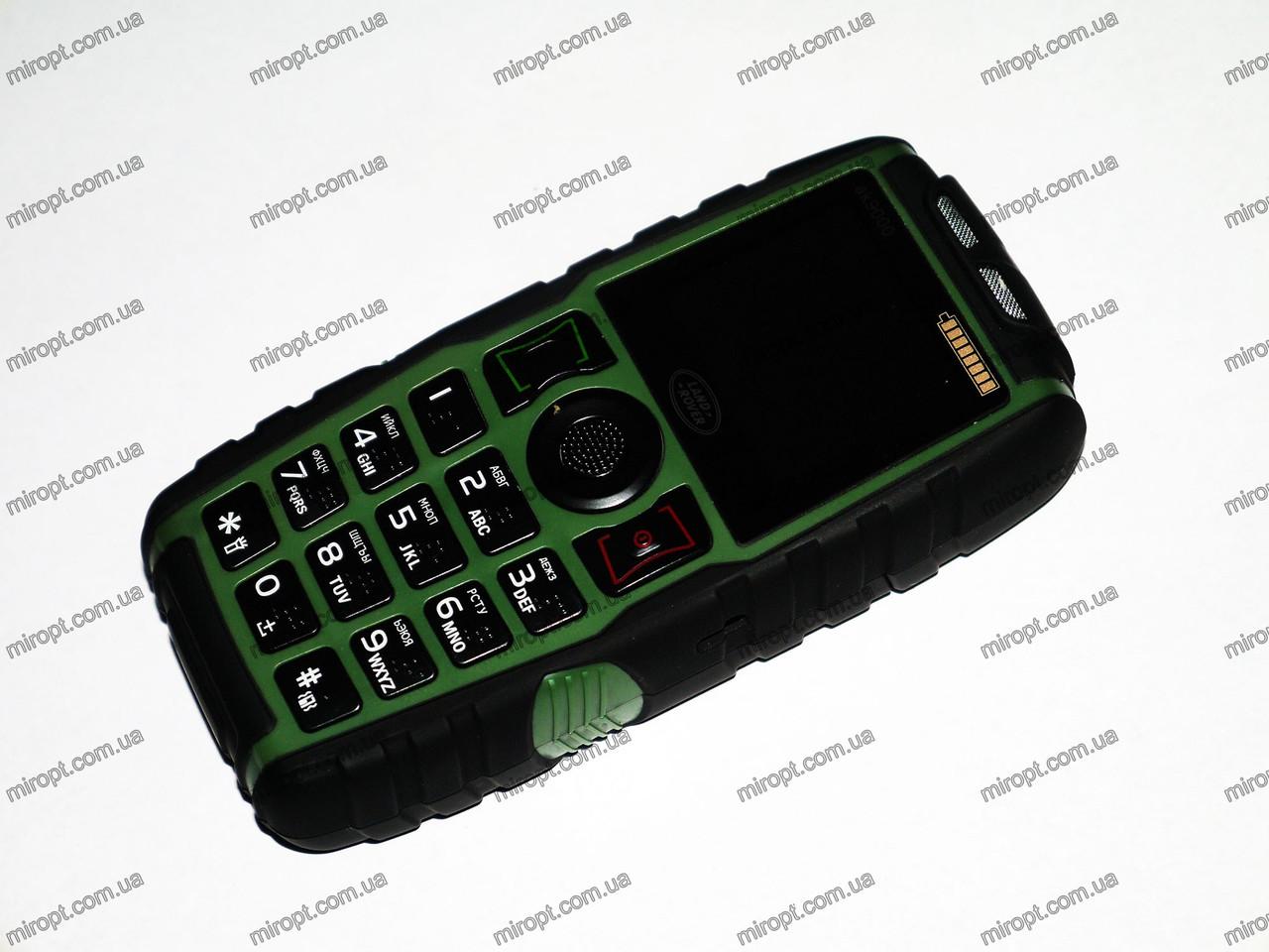 Телефон Land Rover AK9000. POWER BANK. 2sim. 5000 mAh